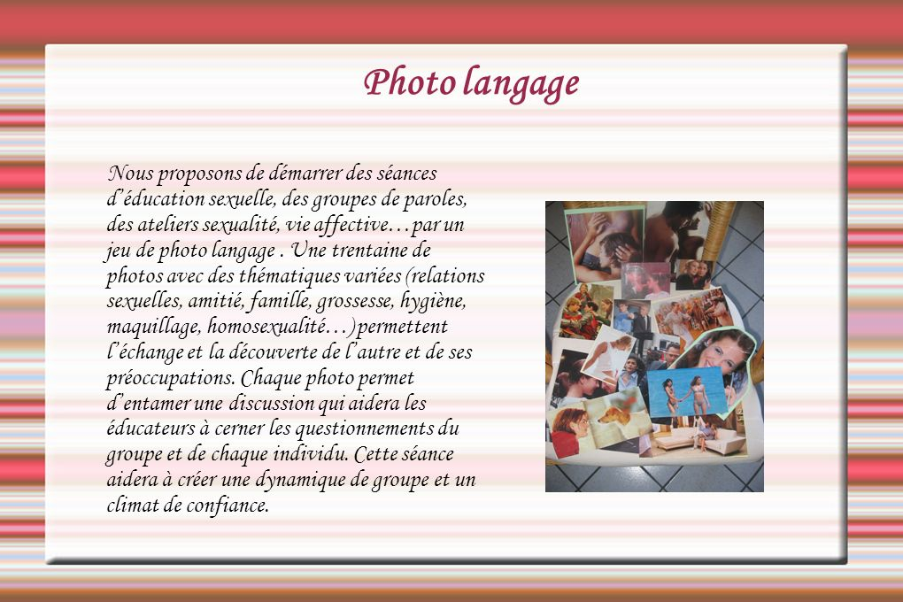 Photo langage