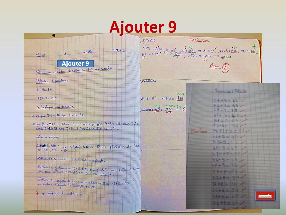 Ajouter 9 Ajouter 9 sommaire