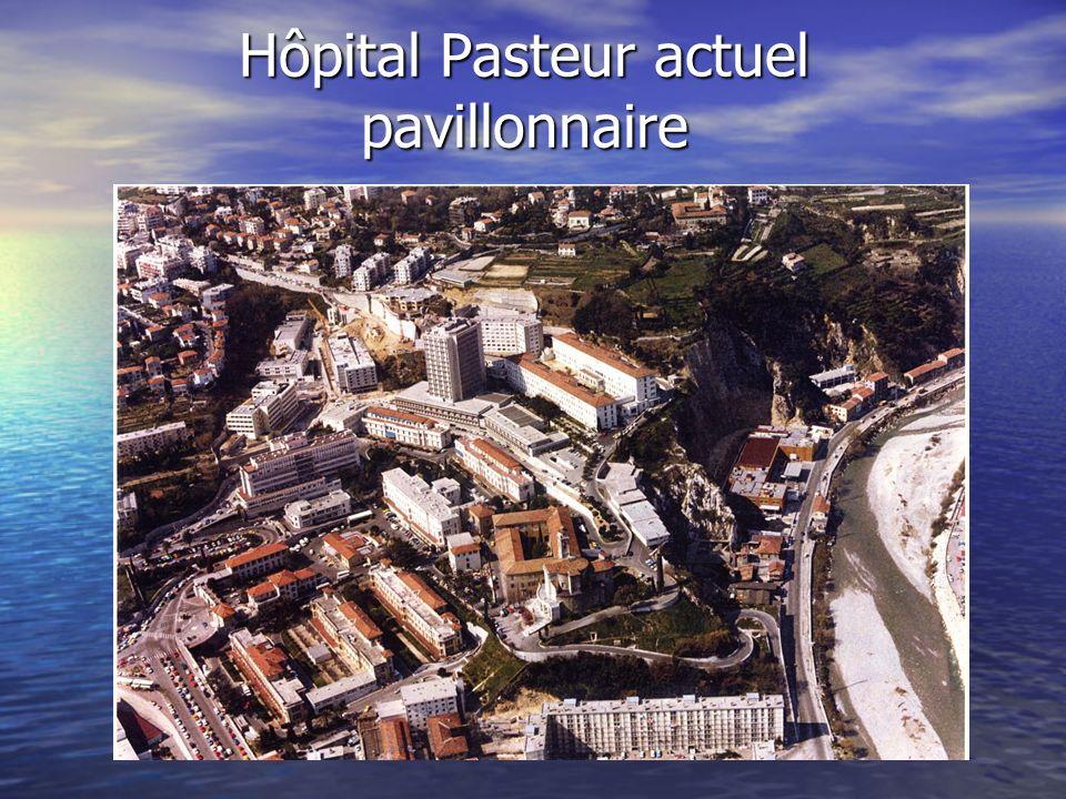 Hôpital Pasteur actuel pavillonnaire