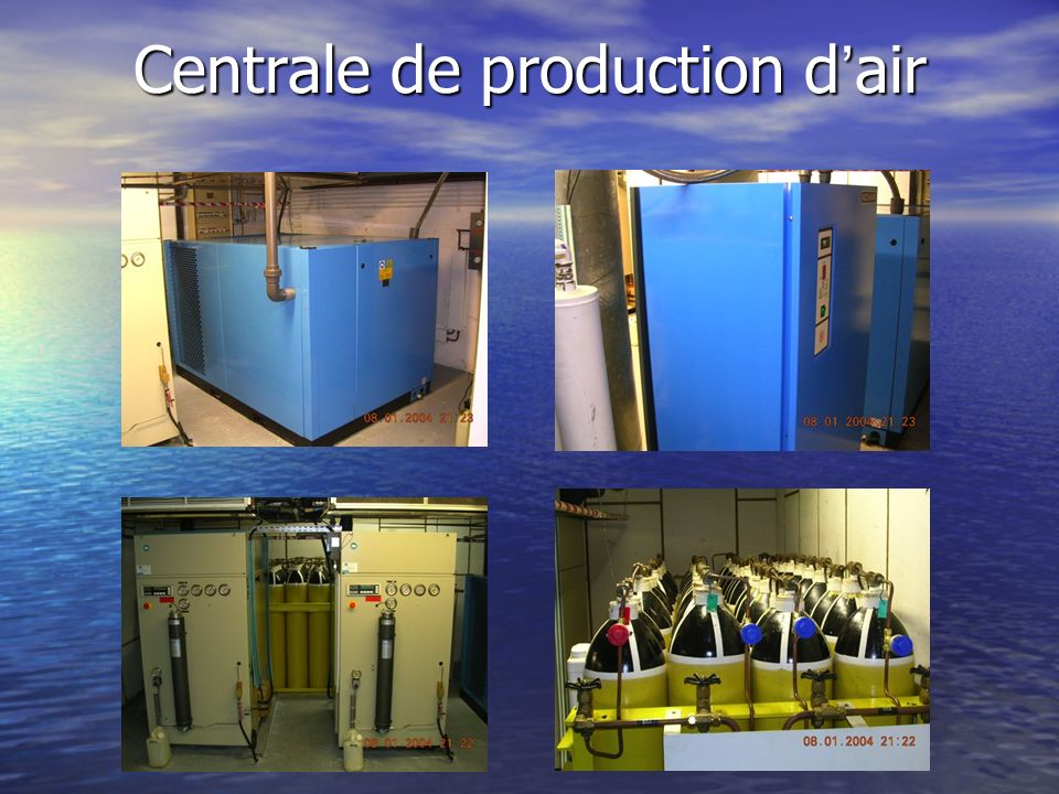 Centrale de production d'air