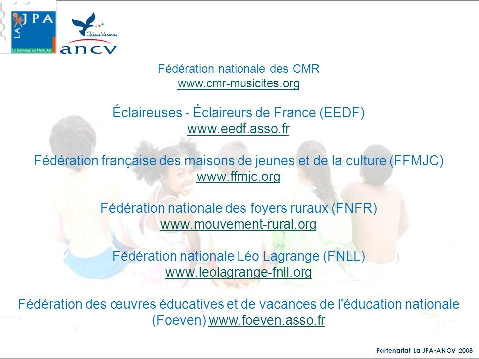 Éclaireuses - Éclaireurs de France (EEDF) www.eedf.asso.fr