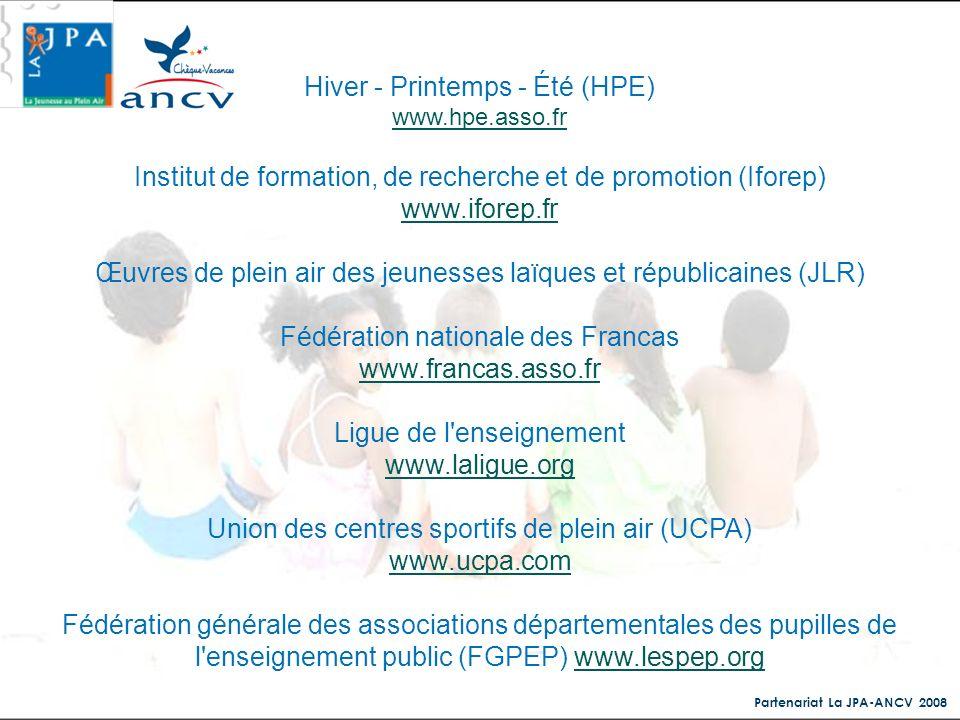 Hiver - Printemps - Été (HPE)