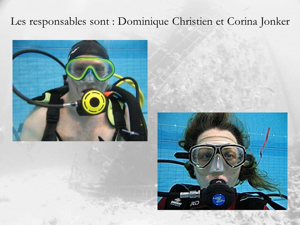 Les responsables sont : Dominique Christien et Corina Jonker