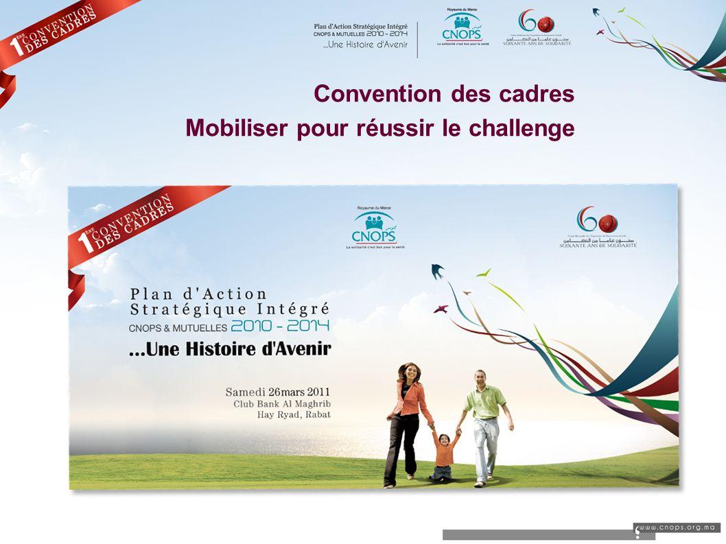 Convention des cadres Mobiliser pour réussir le challenge ؛