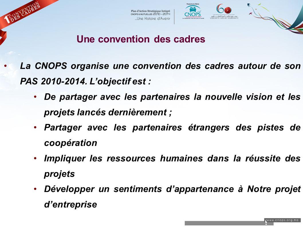 ؛ Une convention des cadres