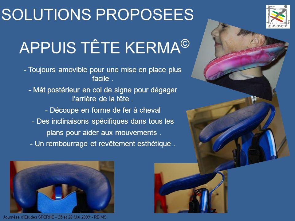 SOLUTIONS PROPOSEES APPUIS TÊTE KERMA©