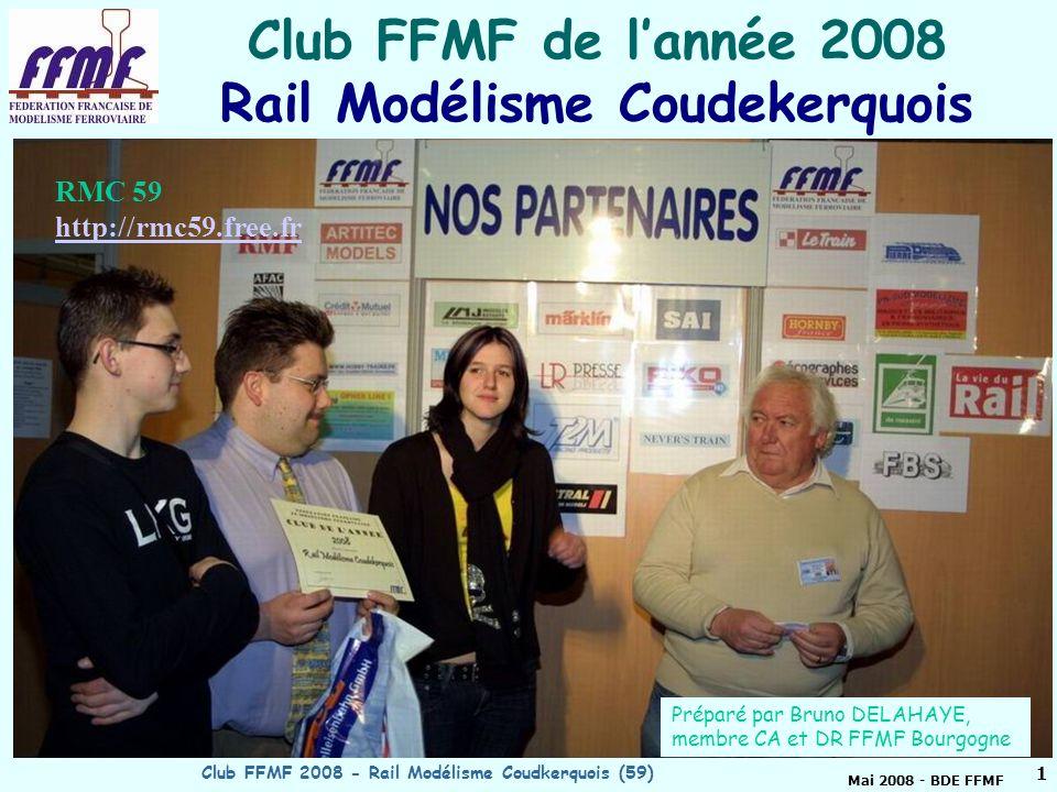 Club FFMF de l'année 2008 Rail Modélisme Coudekerquois