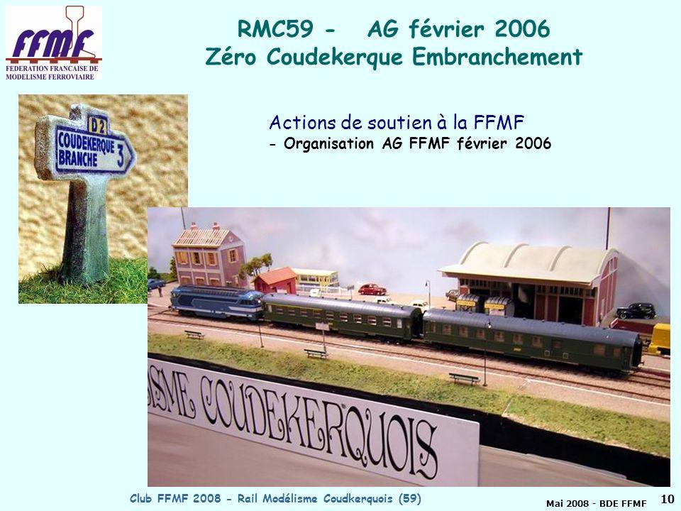RMC59 - AG février 2006 Zéro Coudekerque Embranchement