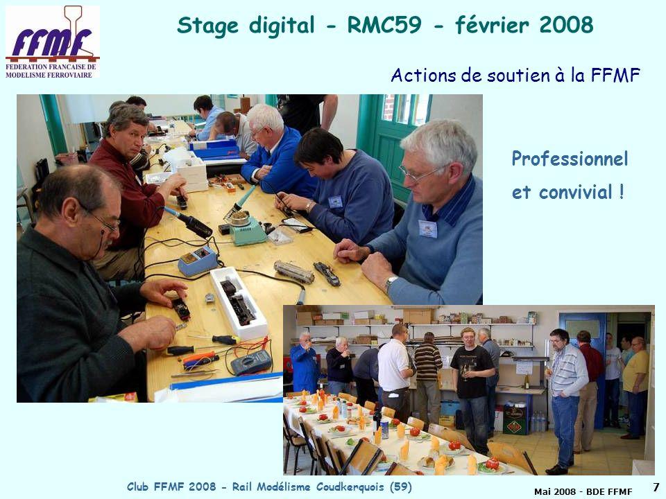 Stage digital - RMC59 - février 2008