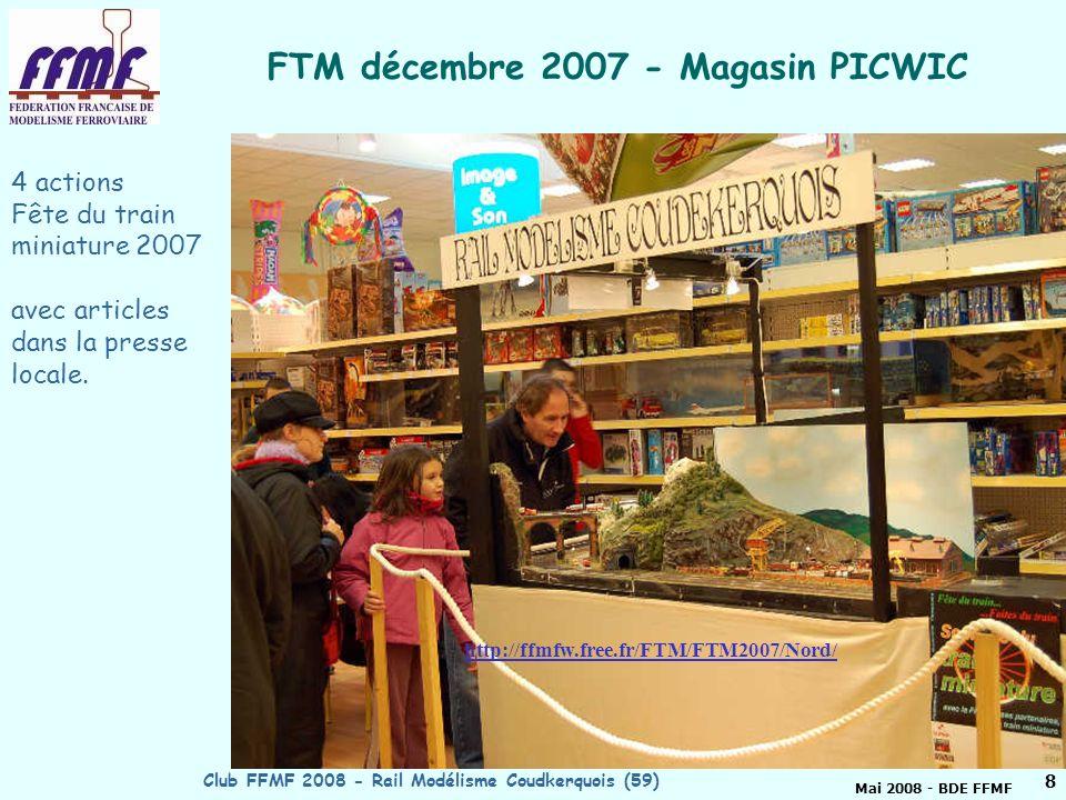 FTM décembre 2007 - Magasin PICWIC