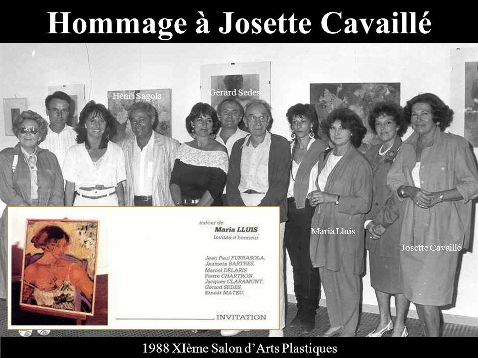 Hommage à Josette Cavaillé