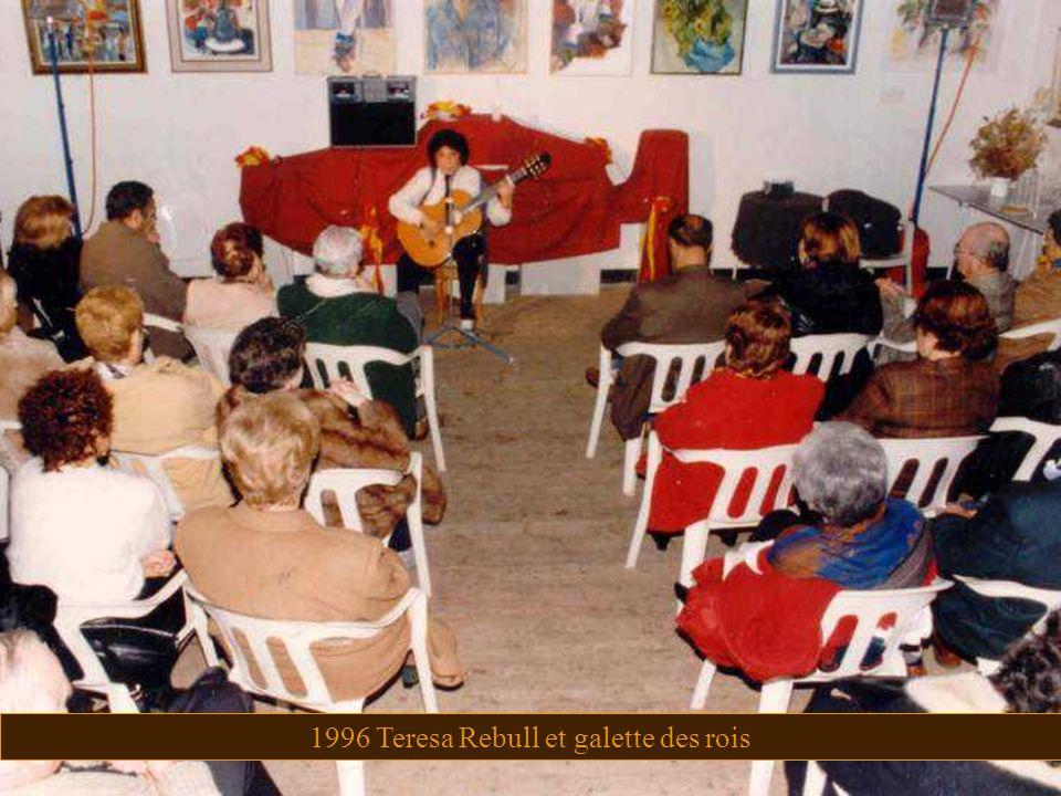 1996 Teresa Rebull et galette des rois
