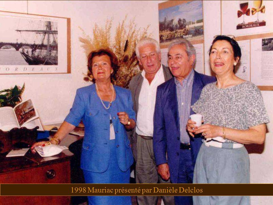 1998 Mauriac présenté par Danièle Delclos