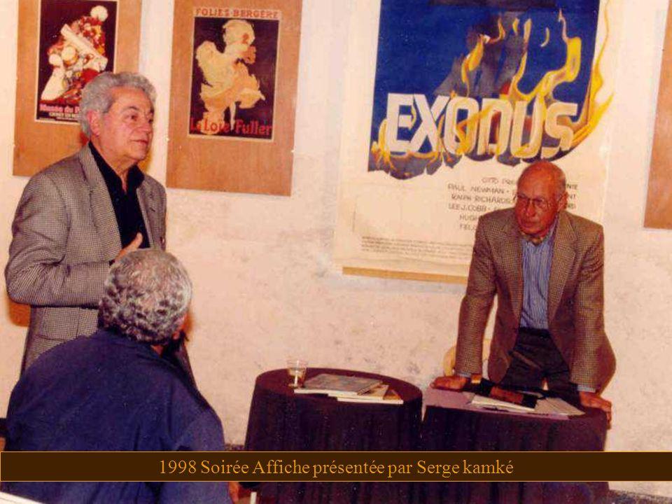 1998 Soirée Affiche présentée par Serge kamké