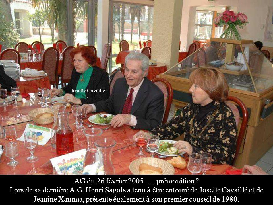 AG du 26 février 2005 … prémonition