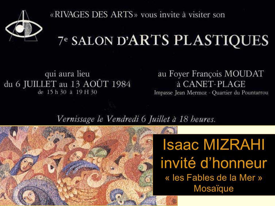 Isaac MIZRAHI invité d'honneur « les Fables de la Mer » Mosaïque