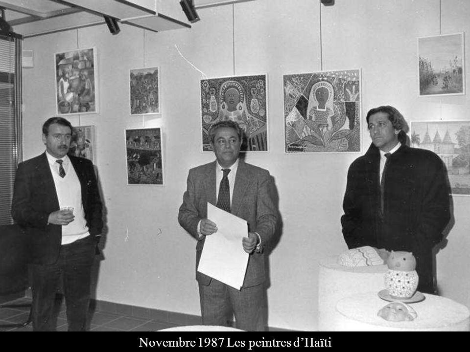 Novembre 1987 Les peintres d'Haïti