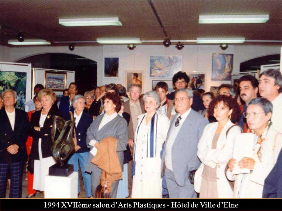 1994 XVIIème salon d'Arts Plastiques - Hôtel de Ville d'Elne