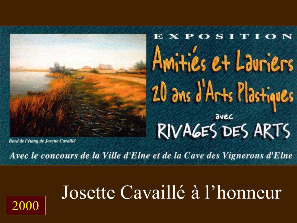 Josette Cavaillé à l'honneur