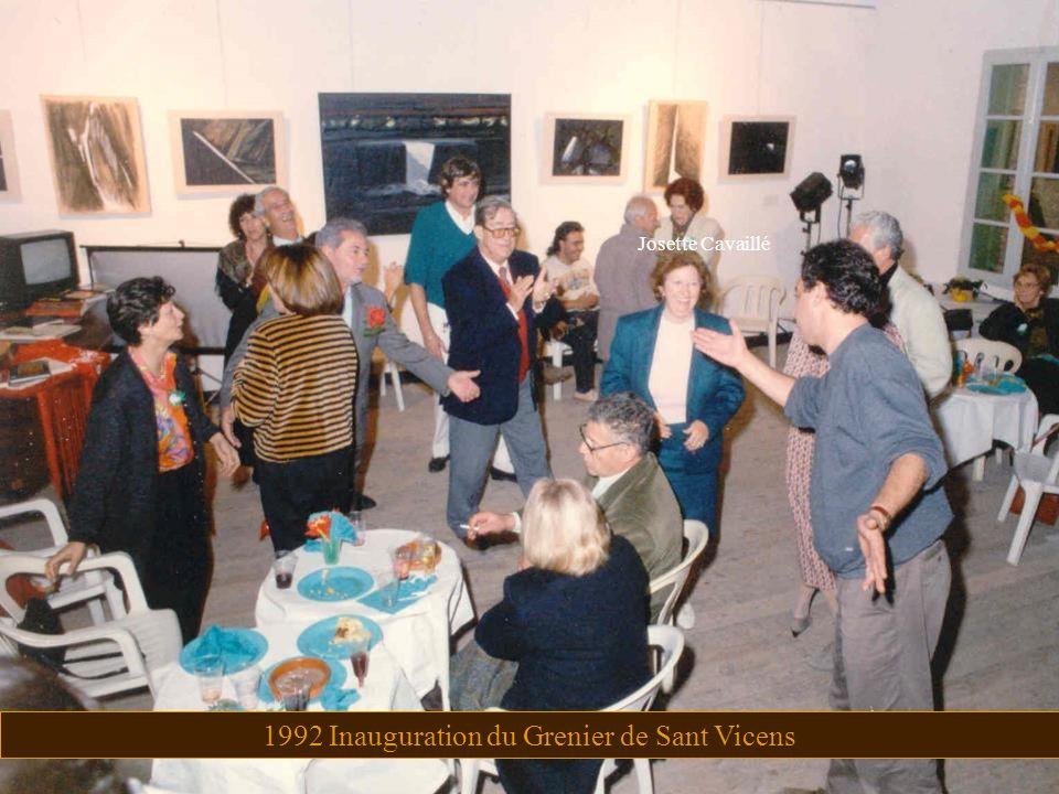 1992 Inauguration du Grenier de Sant Vicens