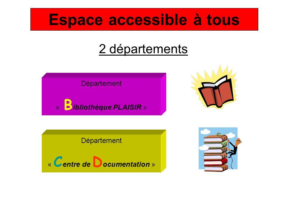 Espace accessible à tous