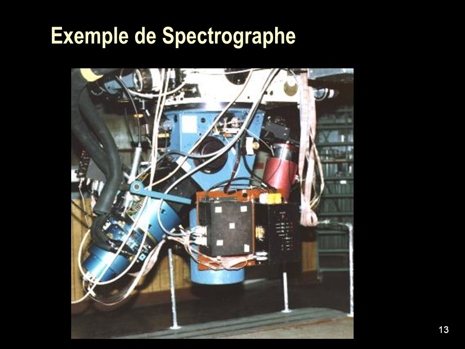 Exemple de Spectrographe