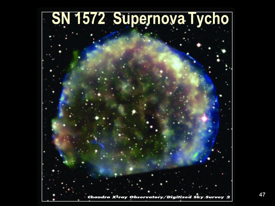 SN 1572 Supernova Tycho