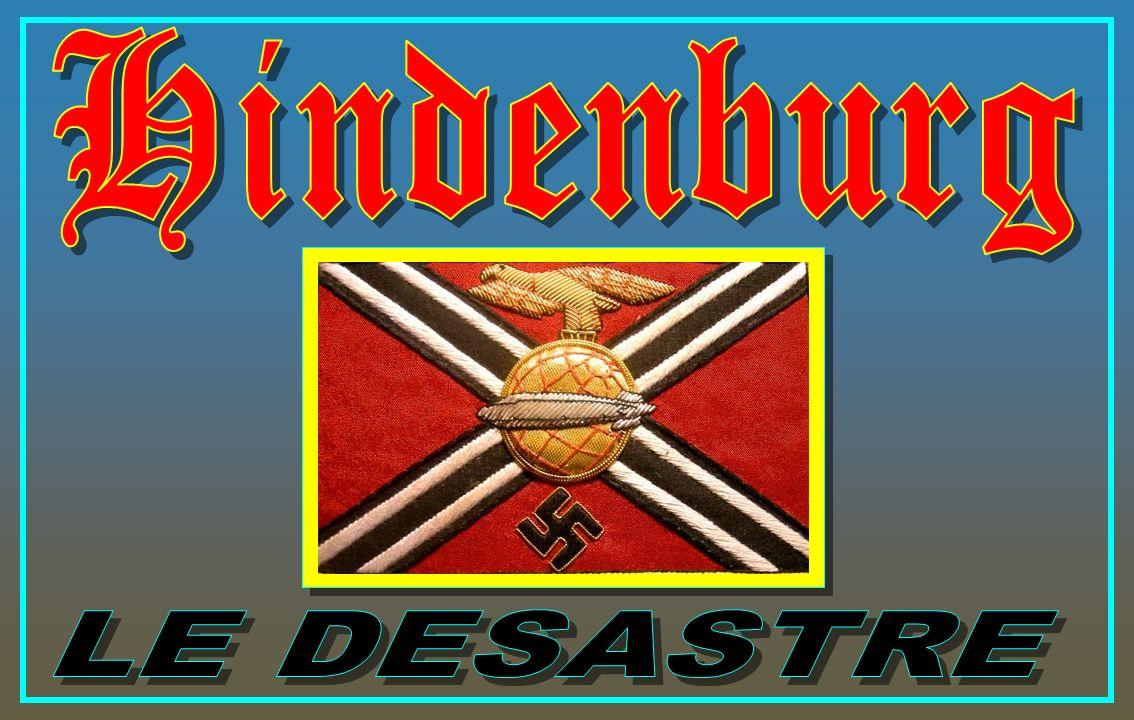 Hindenburg LE DESASTRE