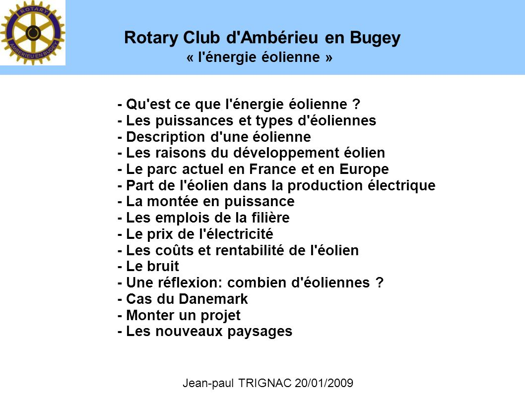 Rotary Club d Ambérieu en Bugey