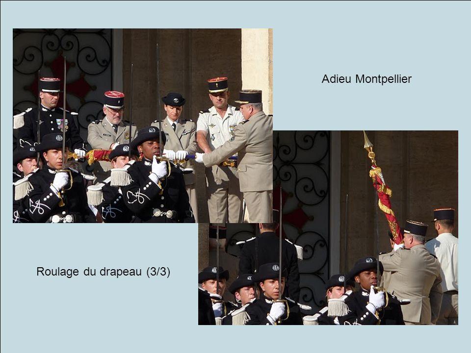 Adieu Montpellier Roulage du drapeau (3/3)