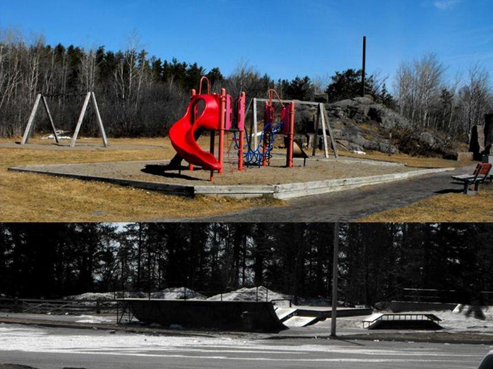 Jeux enfants, sculpture environnementale, jeux de planches à roulette (skatepark)
