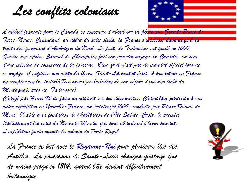 Les conflits coloniaux