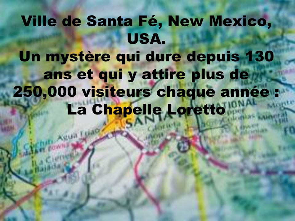 Ville de Santa Fé, New Mexico, USA
