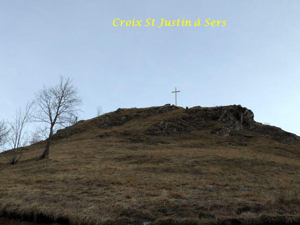 Croix St Justin à Sers