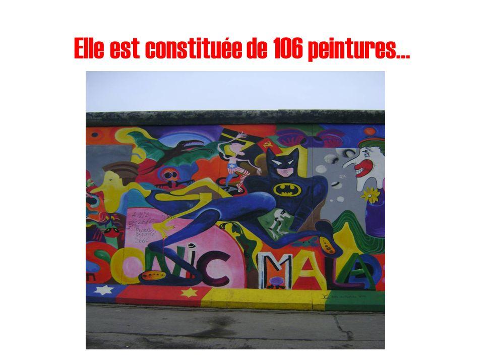 Elle est constituée de 106 peintures…