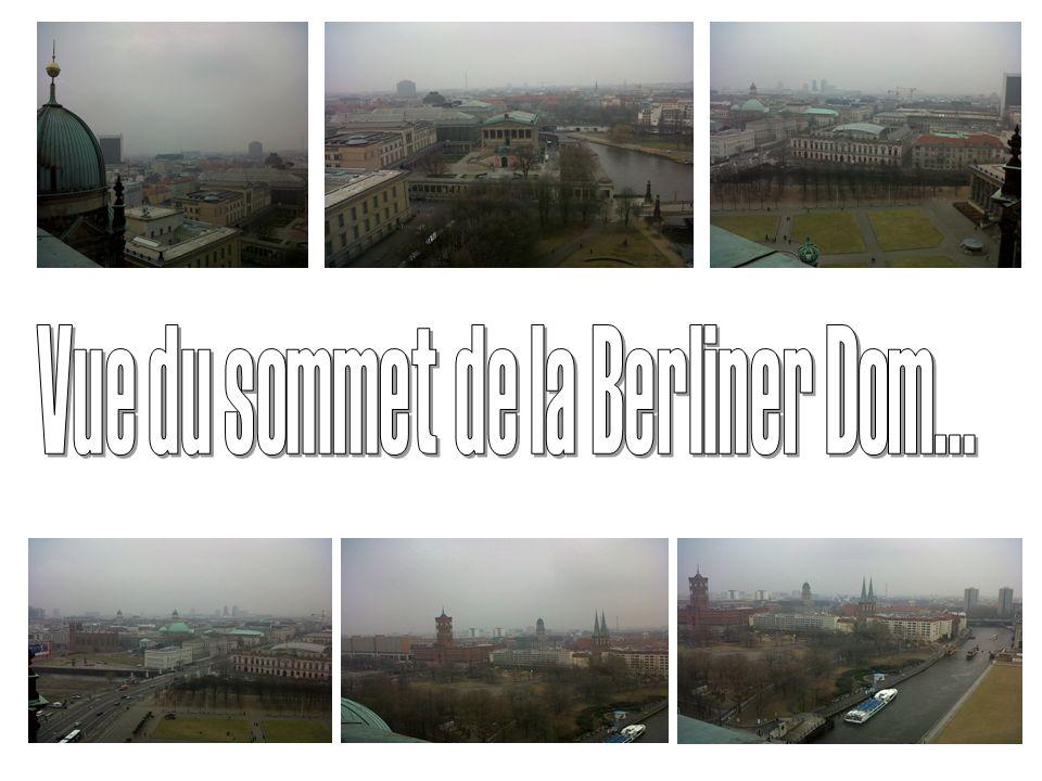 Vue du sommet de la Berliner Dom...