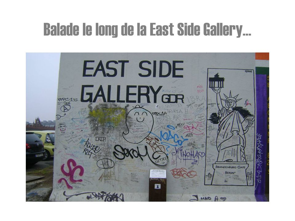 Balade le long de la East Side Gallery…