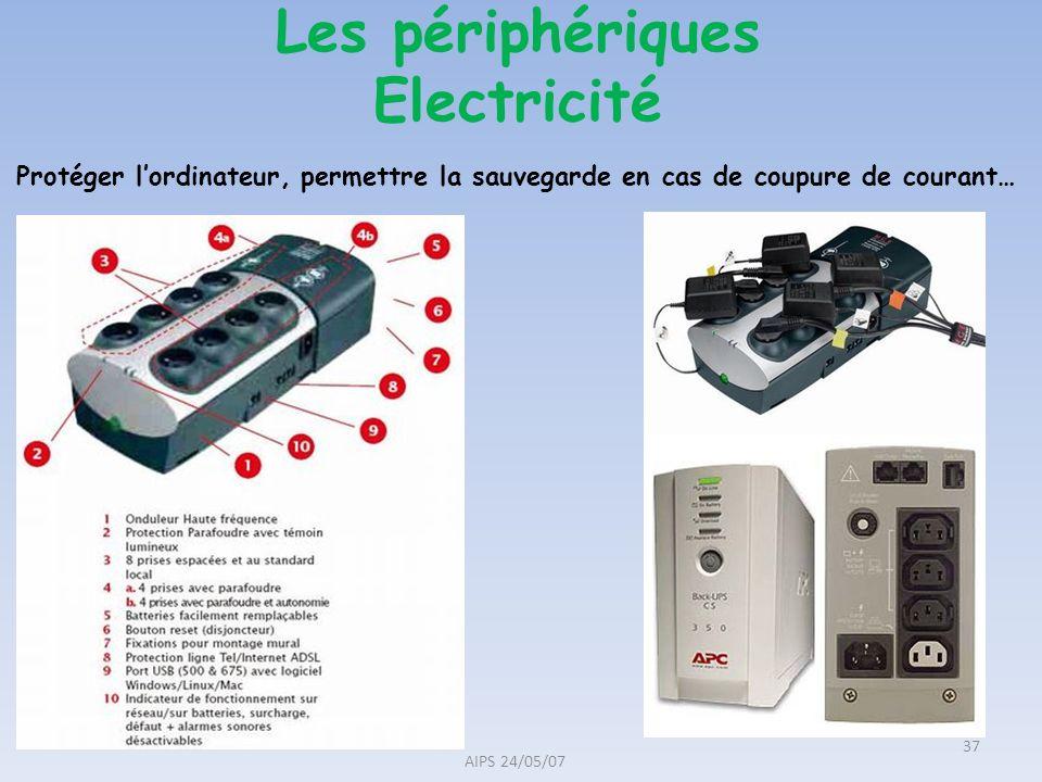 Les périphériques Electricité