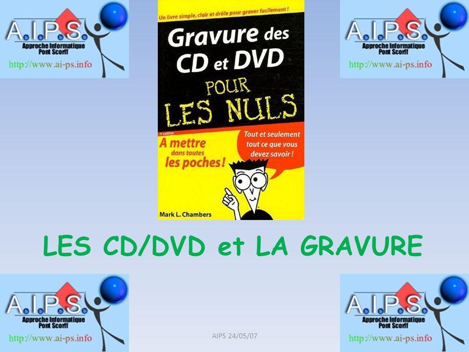 LES CD/DVD et LA GRAVURE