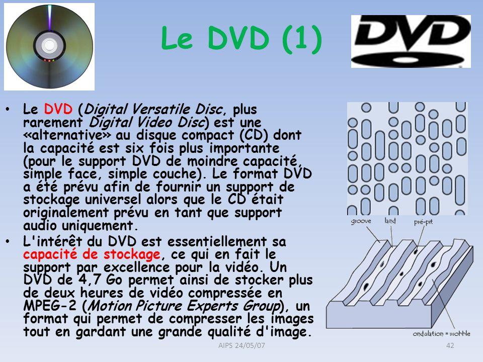 Le DVD (1)