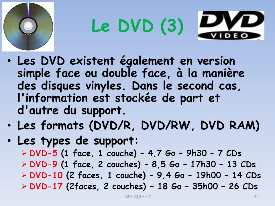 Le DVD (3)