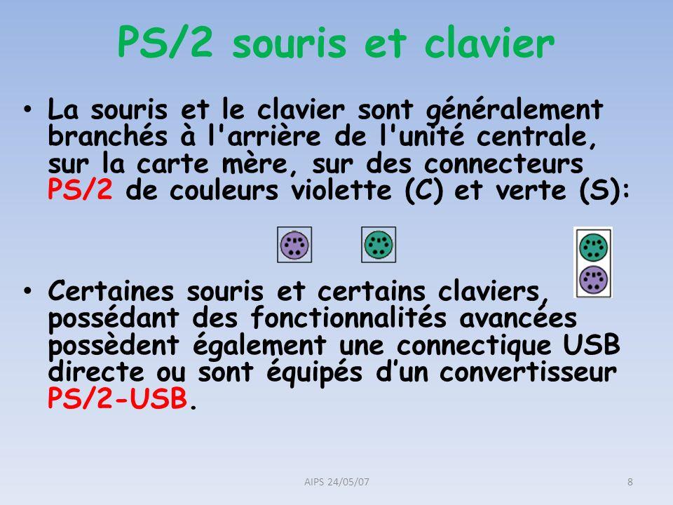 PS/2 souris et clavier