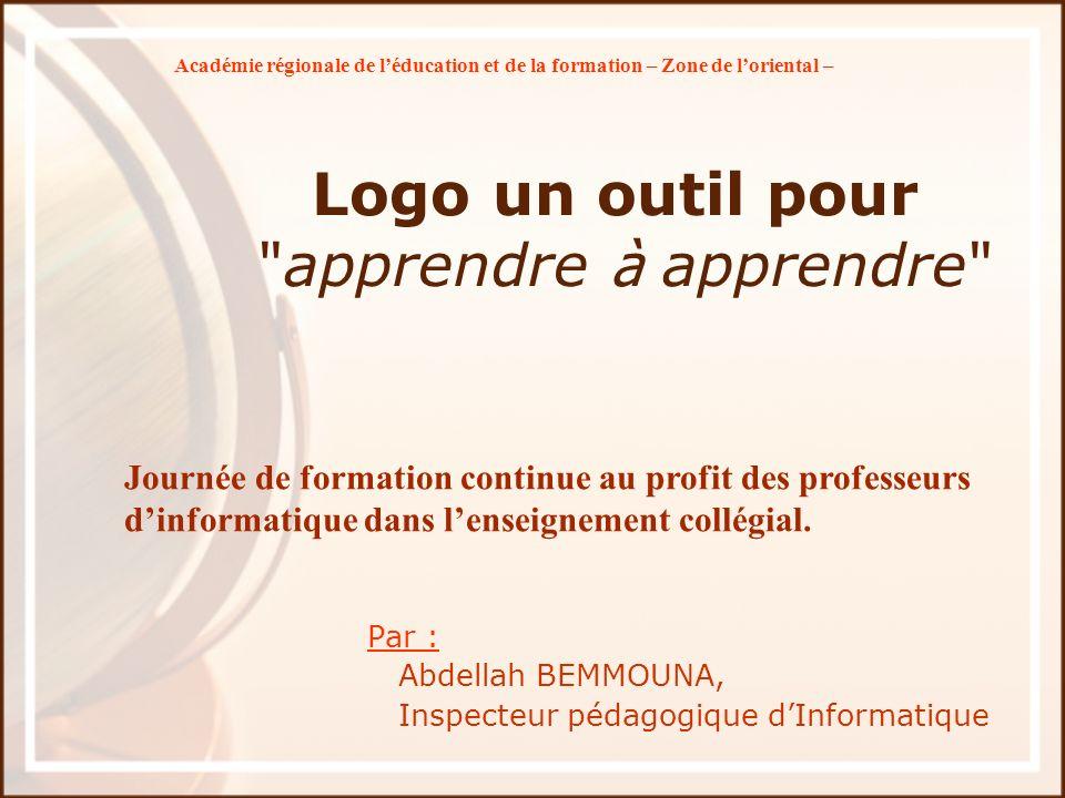 Logo un outil pour apprendre à apprendre