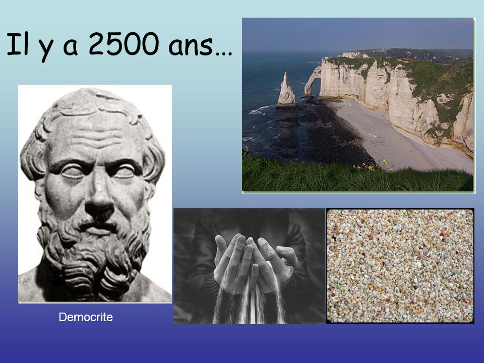 Il y a 2500 ans… Democrite