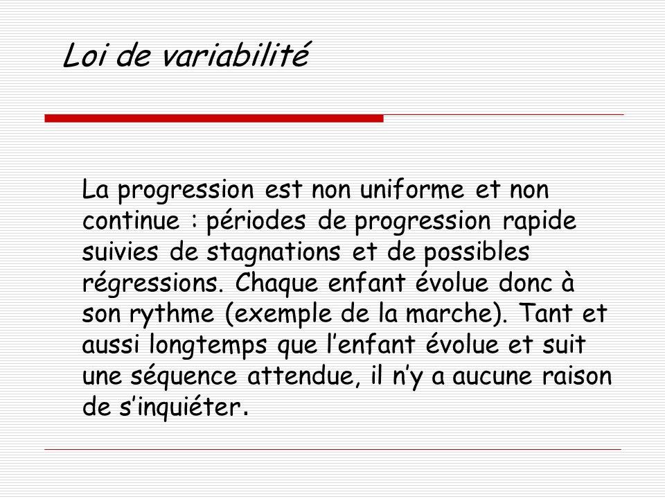 Loi de variabilité