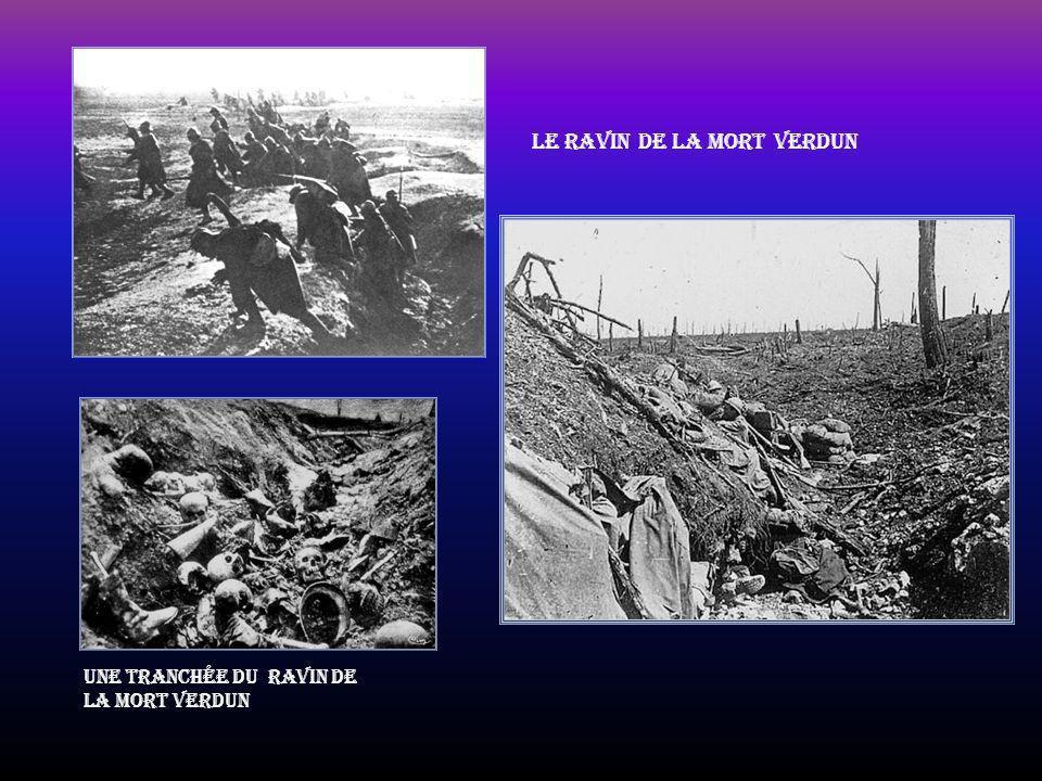 Le ravin de la mort Verdun