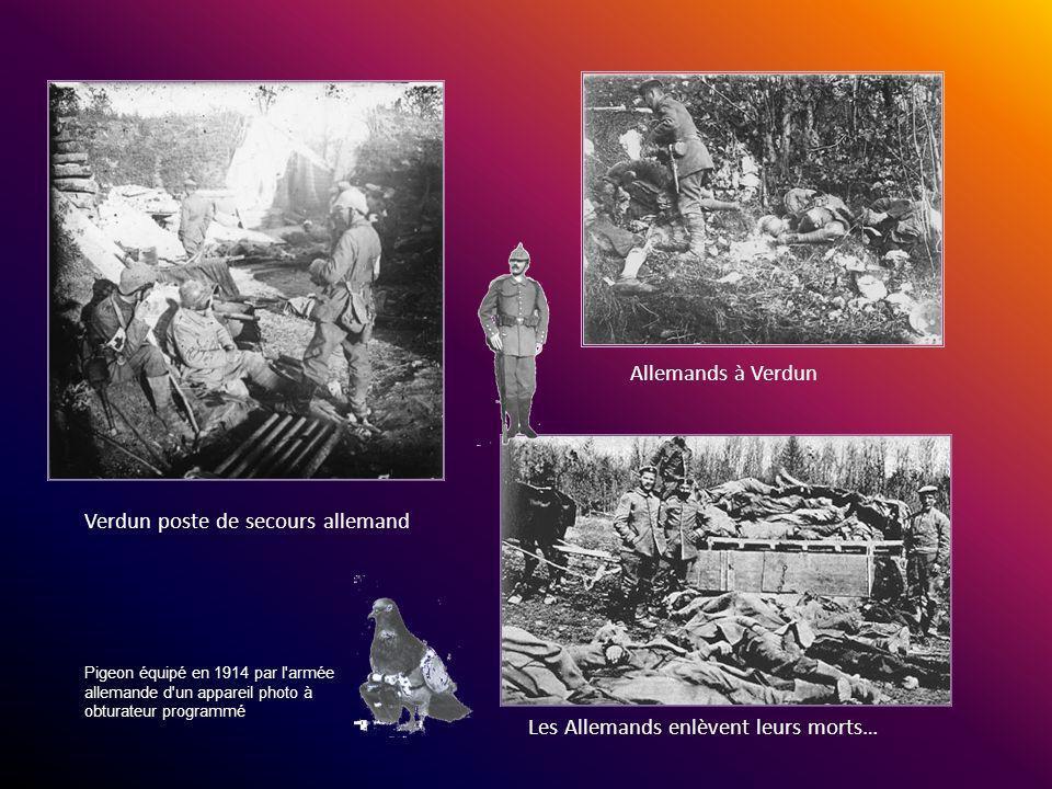 Verdun poste de secours allemand
