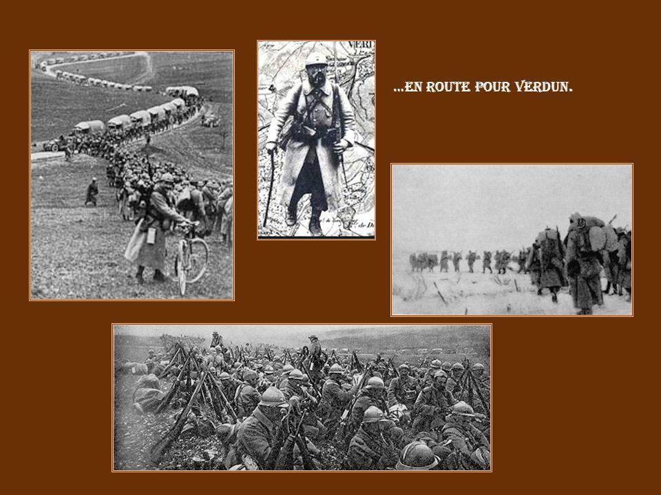…en route pour Verdun.