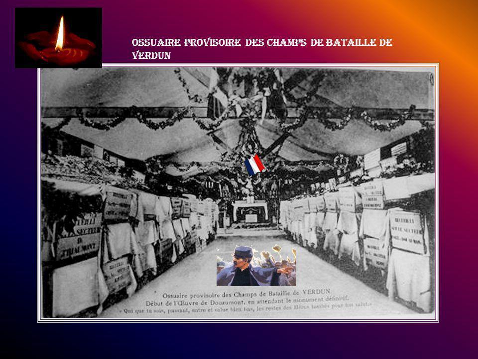 Ossuaire provisoire des champs de bataille de Verdun
