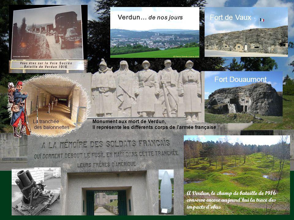 Fort de Vaux Fort Douaumont Verdun… de nos jours